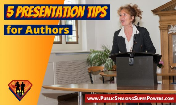 5 Presentation Tips for Authors