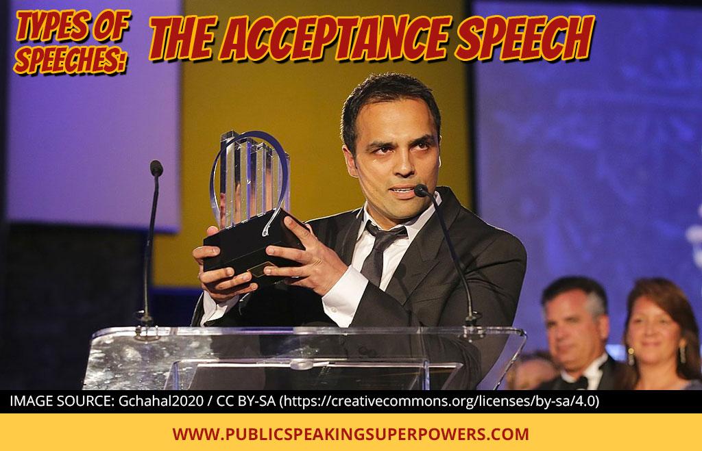 Types of Speeches: The Acceptance Speech