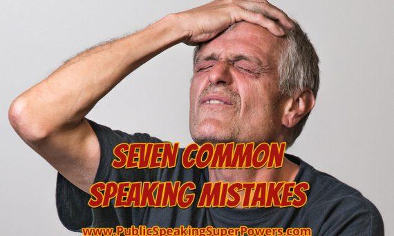 7 common speaking mistakes