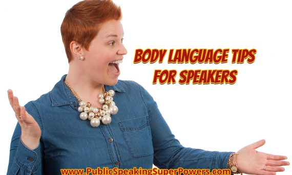 Body Language Tips for Speakers