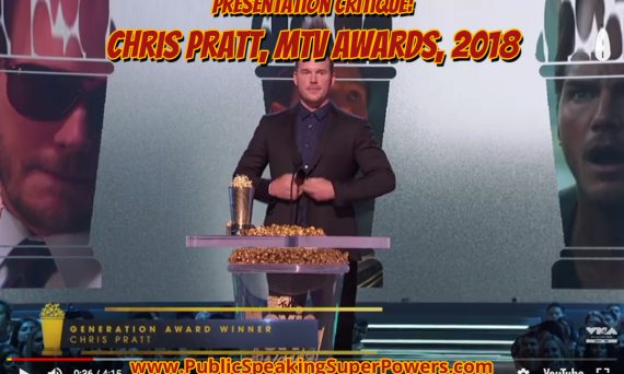 Chris Pratt MTV Awards 2018
