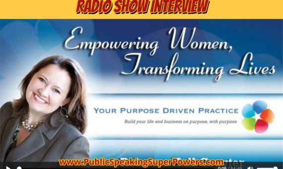 Carma on the Empowering Women, Transforming Lifes show