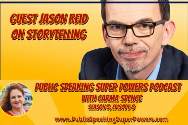 Podcast: Guest Jason Reid - Storytelling