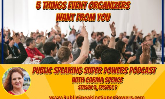 5 Things Event Organizers Want from You