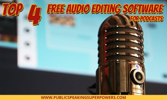 Top 4 Free Audio Editing Software For Podcasts