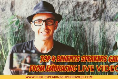 Top 4 Benefits Speakers Gain from Embracing Live Video [PODCAST]