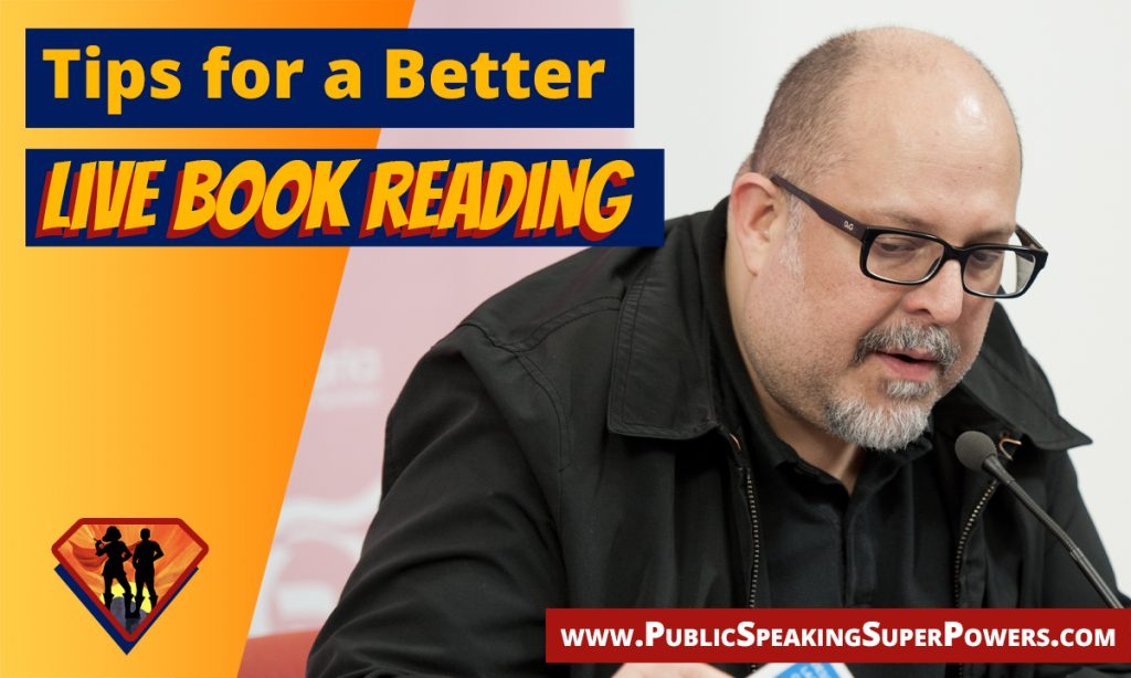 Tips for a Better Live Book Reading